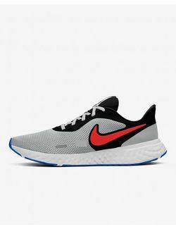 tenis-nike-revolution-5-black-chile-red-lt-s-38-bq3204--011038-bq3204--011038-6