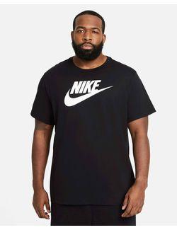camiseta-manga-curta-m-nsw-tee-icon-black-white-eeg-ar5004--010eeg-ar5004--010eeg-6